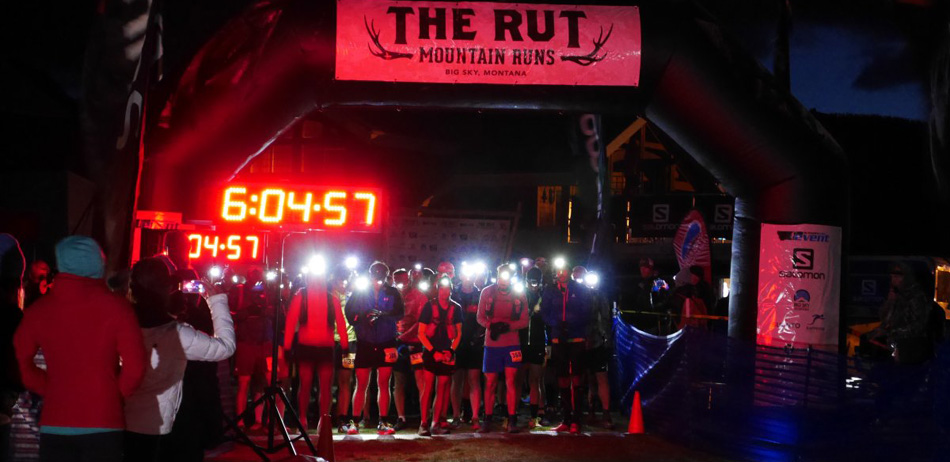 """The Rut<!-- 2015-->, Big Sky, MT - 50K Start"""